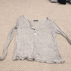 Sheer Brandy Melville Sweater